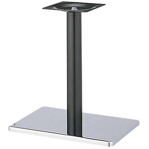 プロシード(丸二金属) テーブル脚 TABLE LEG 角ベース BT306-P ベース角550×370 ポールφ76 受座角240(mm) 業務用 送料無料