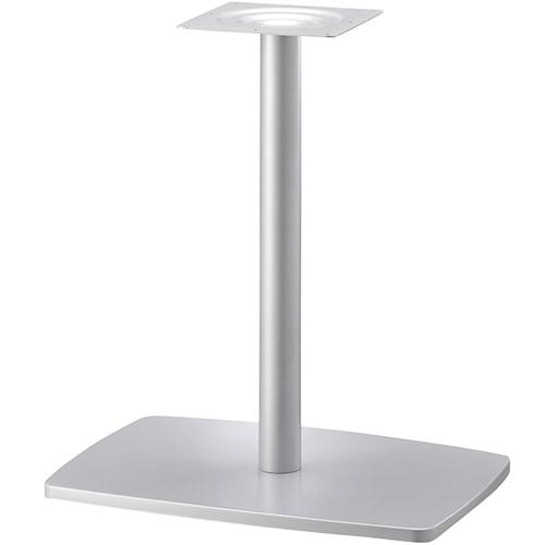 プロシード(丸二金属) テーブル脚 TABLE LEG 角ベース BT327-O ベース600×420 ポールφ60 受座角240(mm) 業務用 送料無料