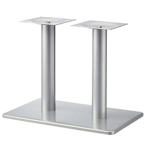 プロシード(丸二金属) テーブル脚 TABLE LEG 角ベース BT335-K ベース角850×550 ポールφ101 受座角300(mm) 業務用 送料無料