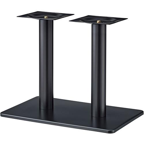 プロシード(丸二金属) テーブル脚 TABLE LEG 角ベース BT336-K ベース角850×550 ポールφ101 受座角300(mm) 業務用 送料無料