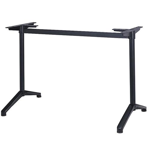 プロシード(丸二金属) テーブル脚 TABLE LEG 対立脚 DT503-B 幅455×高さ680(mm) 業務用 送料無料