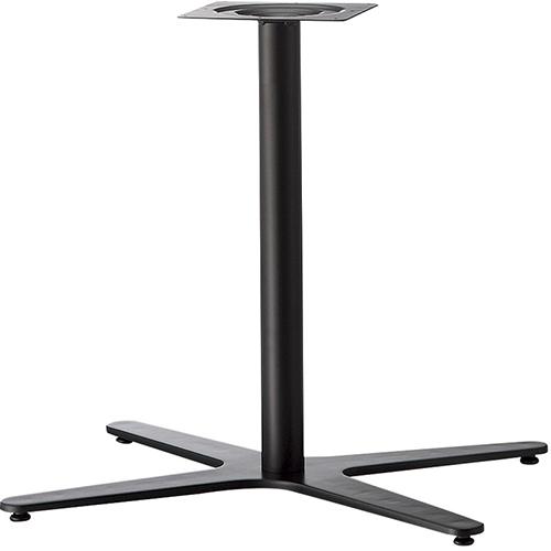 プロシード(丸二金属) テーブル脚 TABLE LEG Xベース ET606-C ポールφ76 受座角240 (mm) 業務用 送料無料