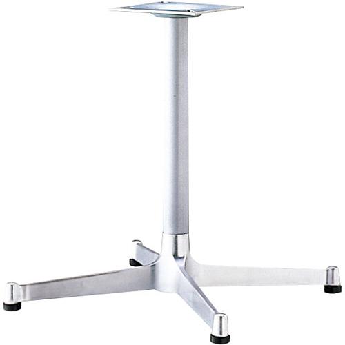 プロシード(丸二金属) テーブル脚 TABLE LEG 十字ベース FT710-E ポールφ42 受座角240 (mm) 業務用 送料無料