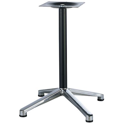 プロシード(丸二金属) テーブル脚 TABLE LEG 十字ベース FT715-F ポールφ50 受座角240(mm) 業務用 送料無料