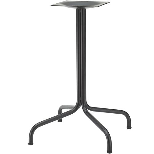 プロシード(丸二金属) テーブル脚 TABLE LEG 十字ベース FT717-H 高さ670(mm) ポールφ22×4 受座角240 (mm) 業務用 送料無料