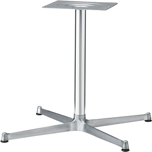 プロシード(丸二金属) テーブル脚 TABLE LEG 十字ベース FT720-E ポールφ41 受座角240(mm) 業務用 送料無料