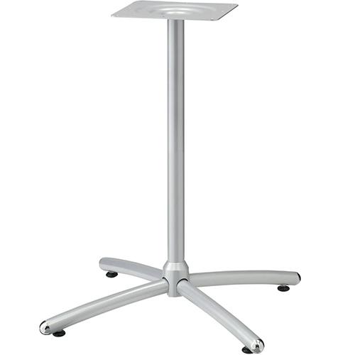 プロシード(丸二金属) テーブル脚 TABLE LEG 十字ベース FT722-E ポールφ38 受座角240(mm) 業務用 送料無料