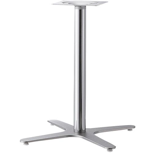 プロシード(丸二金属) テーブル脚 TABLE LEG 十字ベース FT723-G ポールφ60 受座角240(mm) 業務用 送料無料