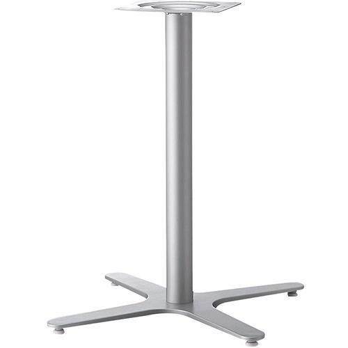 プロシード(丸二金属) テーブル脚 TABLE LEG 十字ベース FT724-G ポールφ60 受座角240(mm) 業務用 送料無料