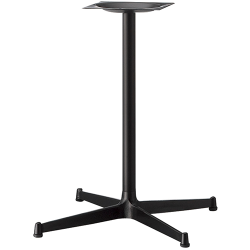 プロシード(丸二金属) テーブル脚 TABLE LEG 十字ベース FT726-A ポールφ76 受座角400 (mm) 業務用 送料無料