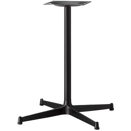 プロシード(丸二金属) テーブル脚 TABLE LEG 十字ベース FT726-G ポールφ42 受座角240 (mm) 業務用 送料無料