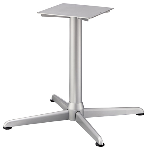 プロシード(丸二金属) テーブル脚 TABLE LEG 十字ベース FT728-J ポールφ76 受座角350 (mm) 業務用 送料無料