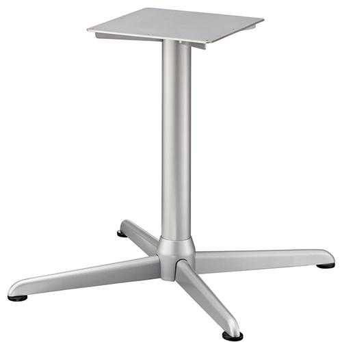 プロシード(丸二金属) テーブル脚 TABLE LEG 十字ベース FT728-L ポールφ76 受座角350 (mm) 業務用 送料無料
