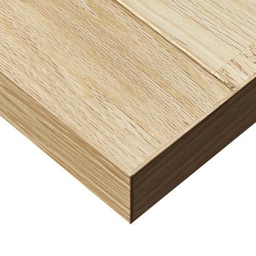 プロシード(丸二金属) テーブル天板 オークフローリング材 ST913-NA-E 幅600×奥行600×高さ30(mm) 業務用 送料無料