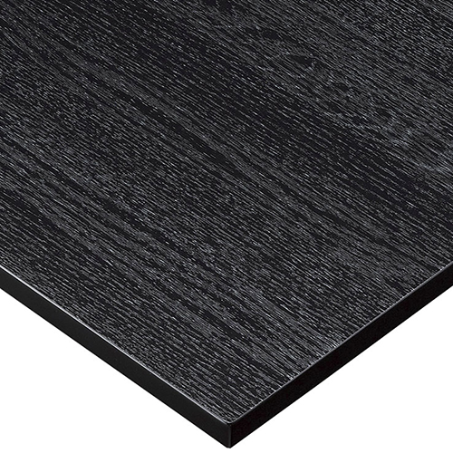 プロシード(丸二金属) テーブル天板 メラミン化粧板MDF(木口塗装) ST942-BL-M 幅1200×奥行750×高さ23(mm) 業務用 送料無料