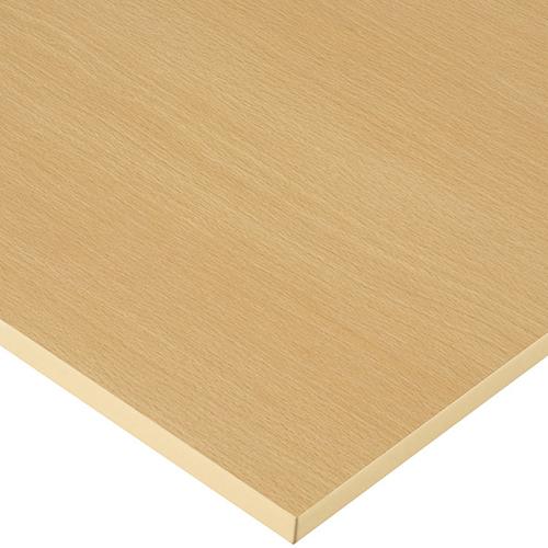 プロシード(丸二金属) テーブル天板 メラミン化粧板MDF(木口塗装) ST942-NA-N 幅600×奥行750×高さ23(mm) 業務用 送料無料