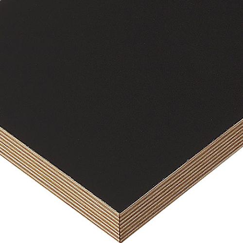 プロシード(丸二金属) テーブル天板 メラミン化粧板(積層柄テープ) ST943-BL-N 幅600×奥行750×高さ30(mm) 業務用 送料無料