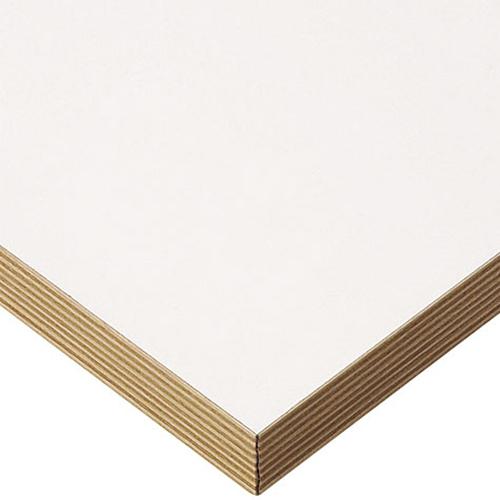 プロシード(丸二金属) テーブル天板 メラミン化粧板(積層柄テープ) ST943-WH-M 幅1200×奥行750×高さ30(mm) 業務用 送料無料