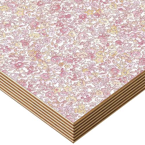 プロシード(丸二金属) テーブル天板 メラミン化粧板(積層柄テープ) ST944-FL-N 幅600×奥行750×高さ30(mm) 業務用 送料無料