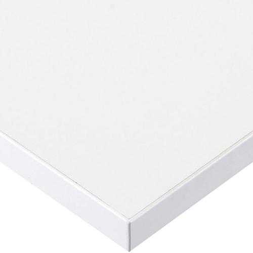 プロシード(丸二金属) テーブル天板 メラミン化粧板(ABSエッジ) ST947-WH-N 幅600×奥行750×高さ30(mm) 業務用 送料無料