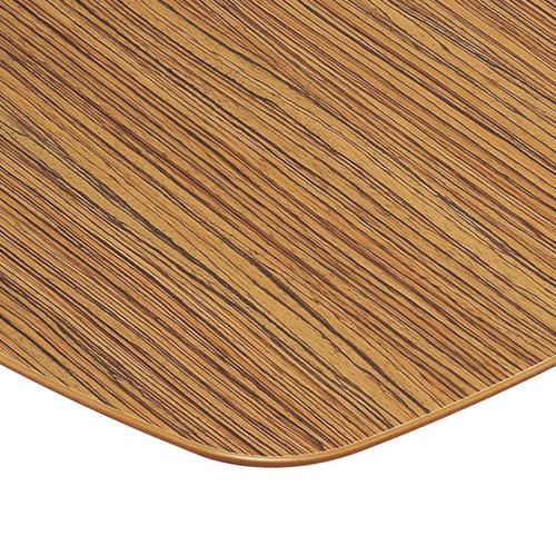 プロシード(丸二金属) テーブル天板 メラミン化粧板MDF(木口塗装) ST956-NZ-E 幅600×奥行600×高さ28(mm) 業務用 送料無料