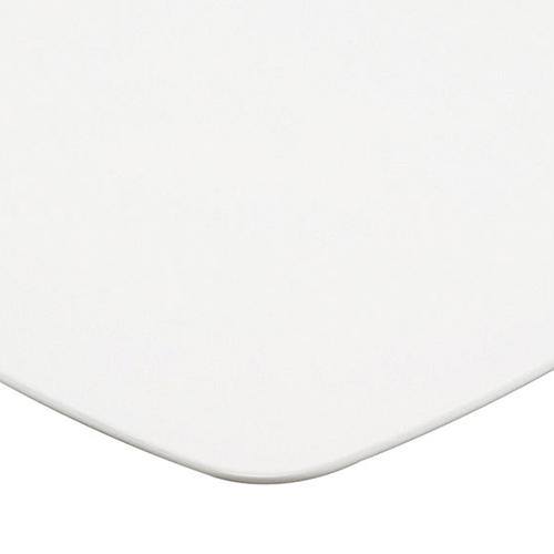プロシード(丸二金属) テーブル天板 メラミン化粧板MDF(木口塗装) ST956-WH-U 幅750×奥行750×高さ28(mm) 業務用 送料無料