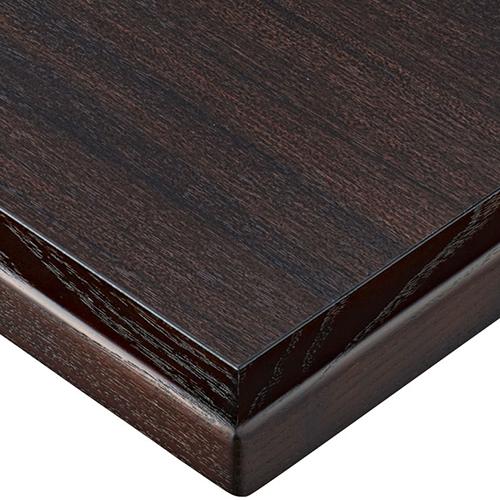 プロシード(丸二金属) テーブル天板 メラミン化粧板(木ブチ) ST961-BR-N 幅600×奥行750×高さ20×厚み20(見附31)(mm) 業務用 送料無料