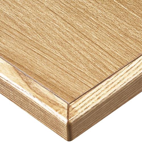 プロシード(丸二金属) テーブル天板 メラミン化粧板(木ブチ) ST961-NA-N 幅600×奥行750×高さ20×厚み20(見附31)(mm) 業務用 送料無料
