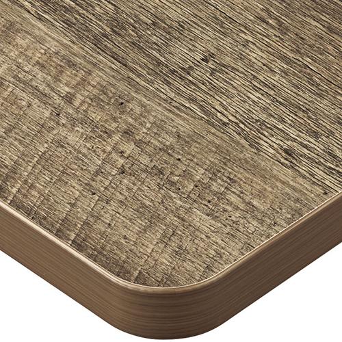 プロシード(丸二金属) テーブル天板 メラミン化粧板(ABSエッジ) ST962-AB-N 幅600×奥行750×高さ30(mm) 業務用 送料無料