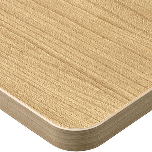 プロシード(丸二金属) テーブル天板 メラミン化粧板(ABSエッジ) ST962-NA-N 幅600×奥行750×高さ30(mm) 業務用 送料無料