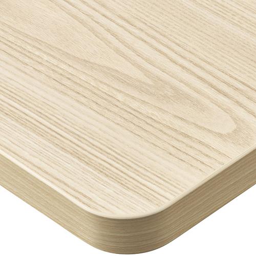 プロシード(丸二金属) テーブル天板 メラミン化粧板(ABSエッジ) ST962-WN-M 幅1200×奥行750×高さ30(mm) 業務用 送料無料