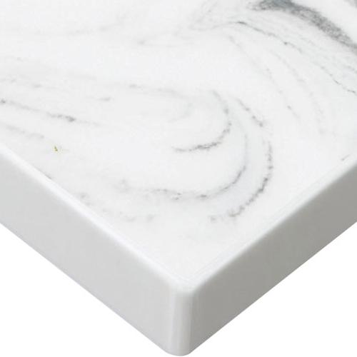 プロシード(丸二金属) テーブル天板 人工大理石 ST991-MA-B 幅500×奥行500×高さ30(mm) 業務用 送料無料