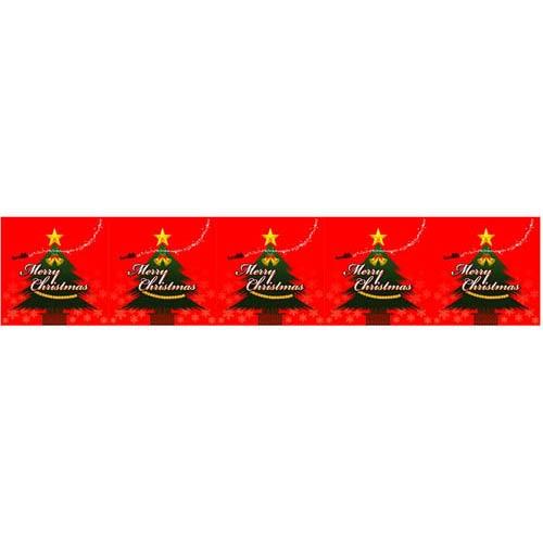 ロール幕「 クリスマス」のぼり屋工房 3827/業務用/新品