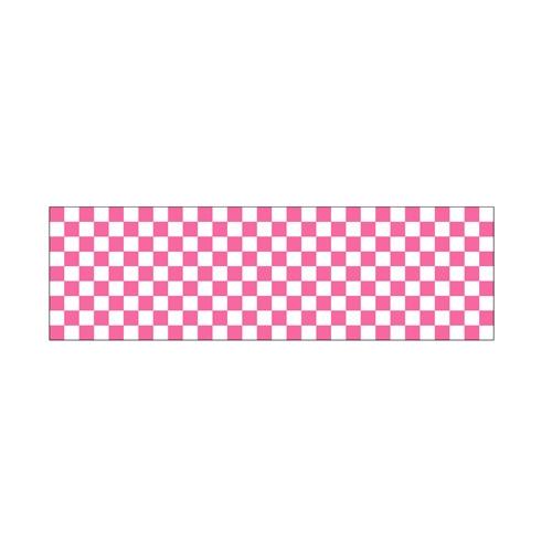 ロール幕「 市松 ピンク」のぼり屋工房 3845/業務用/新品