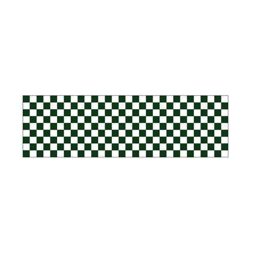 【ロール幕 「 市松 緑 」 】のぼり屋工房 3846【業務用】【グループC】