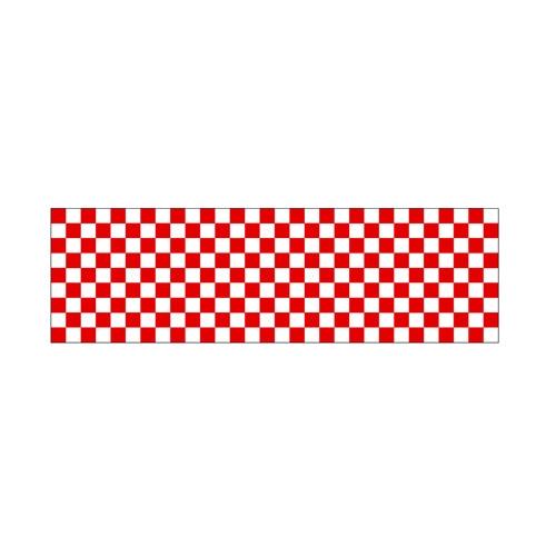 ロール幕「 市松 紅白」のぼり屋工房 3867/業務用/新品/送料無料