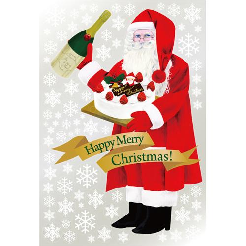 【ウィンドウシール 巨大 サンタクロース(1) 1100 】のぼり屋工房 6893【業務用】【グループC】