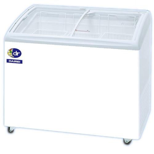 【業務用】ダイレイ 冷凍ショーケース 無風 -25度 190L RIO-100SS 【送料無料】