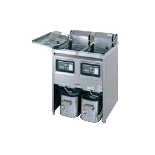 【業務用】【新品】 タニコー 電気フライヤー TEFL-105WN 幅1050×奥行600×高さ800 (50/60Hz) 油量:23L×2 【送料無料】