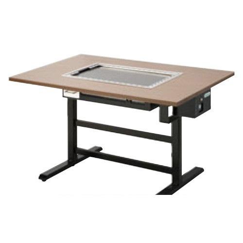 【業務用】【新品】 タニコー 電気式 お好み焼き用テーブル洋卓組み込みタイプ黒皮鉄板 TOTE-2KY 幅900×奥行800×高さ700 (50/60Hz) 2人掛け用 【送料無料】