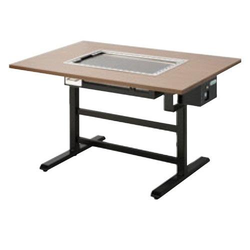 【業務用】【新品】 タニコー 電気式 お好み焼き用テーブル洋卓組み込みタイプ磨き鉄板 TOTE-6MY W1500×D800×H700 (50/60Hz) 6人掛け用 【送料無料】
