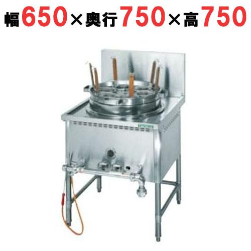 【業務用】【新品】 タニコー ガスゆで麺器 TU-1N 余熱タンク無し W650×D750×H750 都市ガス/LPガス 【送料無料】