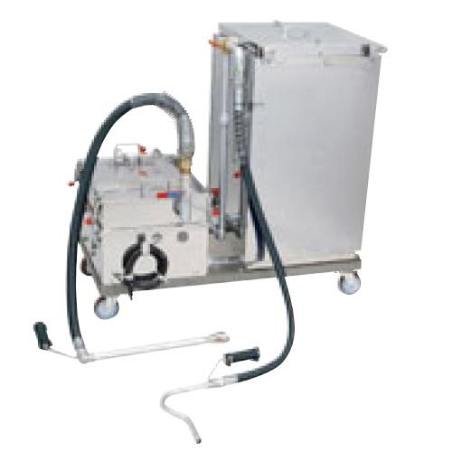 【業務用】【新品】 タニコー 油ろ過器 油ろ過器 VR-2 幅1210×奥行660×高さ1080 適応ろ過油量:100 L 【送料無料】