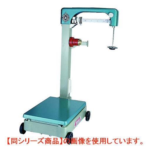 【業務用/新品】台ハカリ 規格台ハカリ 【車付き】 100kg B-100Z 大和製衡/【送料無料】