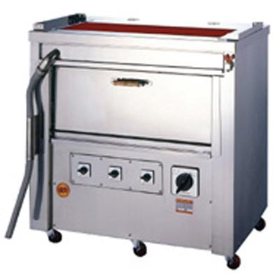 【業務用/新品】 ヒゴグリラー オーブン付タイプ三相200V 幅1,020×奥行650×高さ1,040 [GO-18]