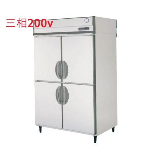 福島工業 縦型冷蔵庫 URD-120RMD6 幅1200×奥行800×高さ1950 【送料無料】【業務用/新品】