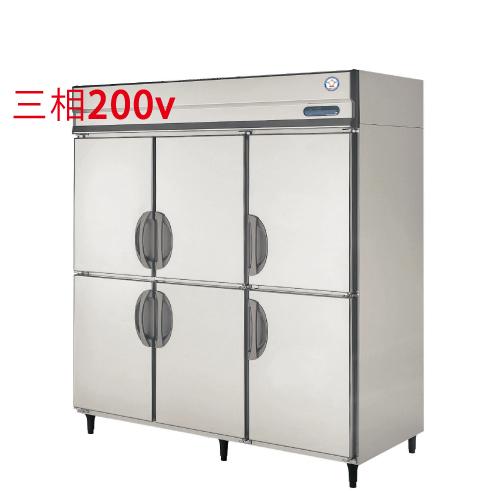 福島工業 縦型冷凍冷蔵庫 URN-182PMD6 幅1790×奥行650×高さ1950 【送料無料】【業務用/新品】
