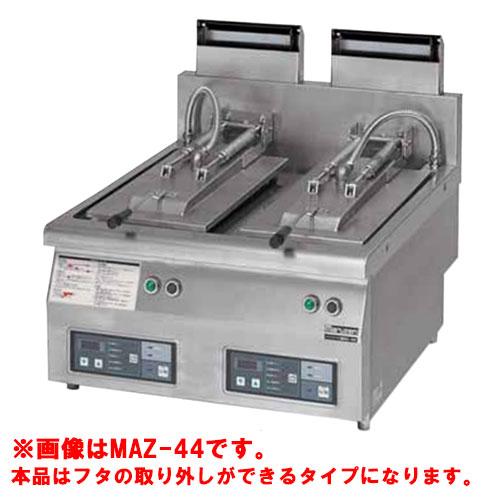 【業務用/新品】【マルゼン】 ガス自動餃子焼器 フタ取り外しタイプ MAZ-44S 幅650×奥行750×高さ350mm 【送料無料】