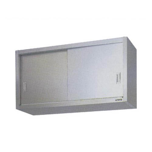 【業務用/新品】【マルゼン】吊戸棚 ステンレス戸 BCS9-1035S 幅1000×奥行350×高900mm 【送料無料】