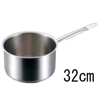 パデルノ 深型片手鍋 1006 (蓋無) 32cm 【業務用】【送料無料】